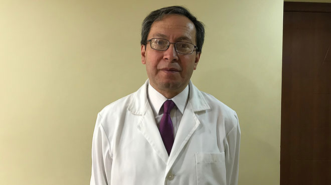 Jorge Moncayo, presidente de la Liga Ecuatoriana Contra la Epilepsia.