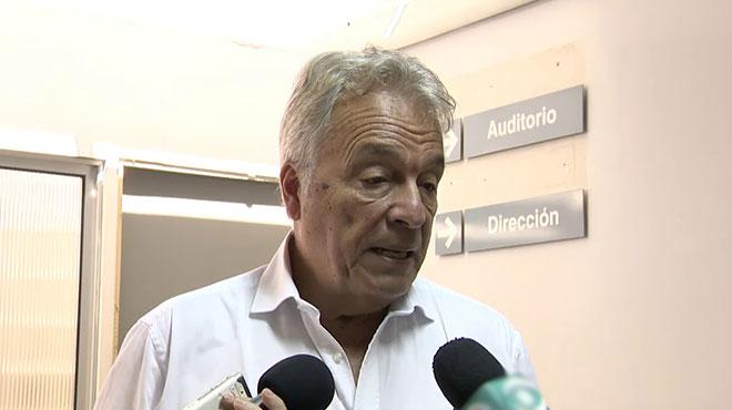 Jorge Qui�n, ministro interino de Salud P�blica