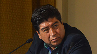 Jorge Yunda, vicepresidente de la Comisi�n Permanente del Derecho a la Salud de la Asamblea Nacional.