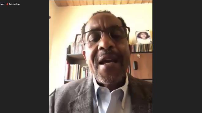 Jos� Chal�, presidente del Grupo Parlamentario por los Derechos de los Pueblos y Nacionalidades.
