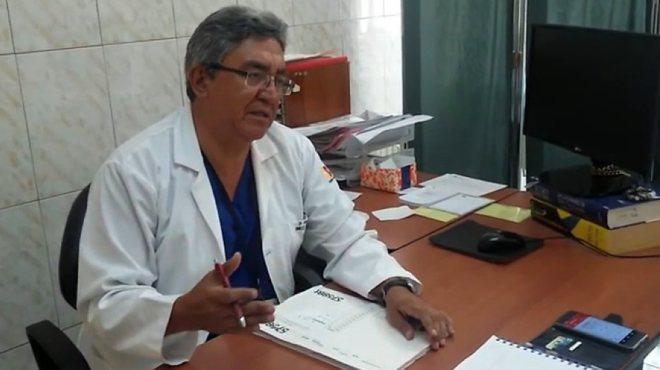 Jos� Hern�n Masache, presidente de la Sociedad Ecuatoriana de Anticoncepci�n.
