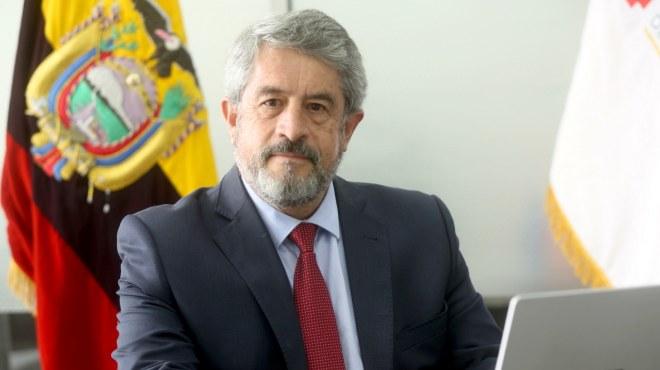Jos� Ruales, viceministro de Gobernanza y Vigilancia de la Salud.