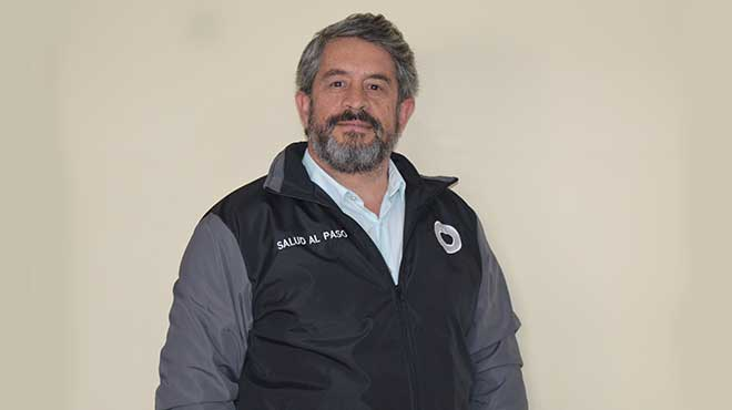 Jos� Ruales, secretario de Salud del Municipio.