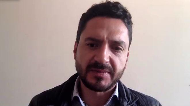 Juan Javier D�vila, miembro del Cpccs.