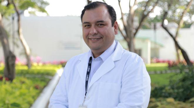 Juan Luis Aguirre, coordinador de docencia del HTMC.