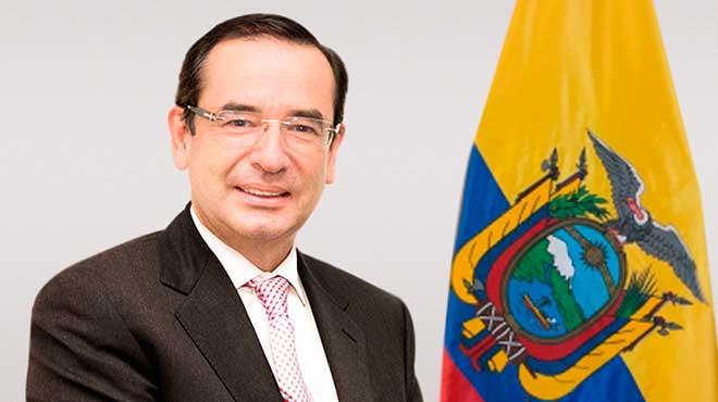 Juan Carlos Cassinelli, ministro de Comercio Exterior.