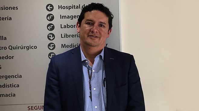 Juan Carlos Maldonado, docente investigador.