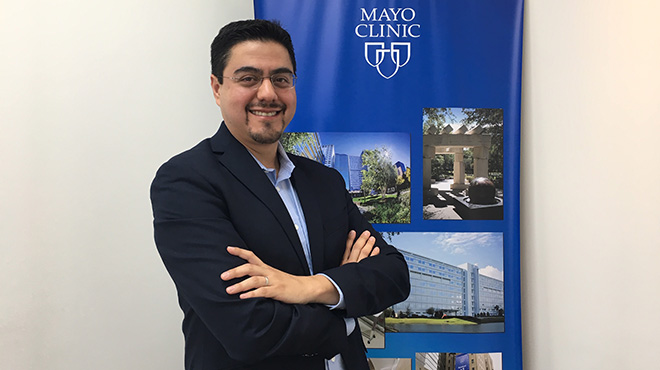Juan Pablo Brito, endocrin�logo.