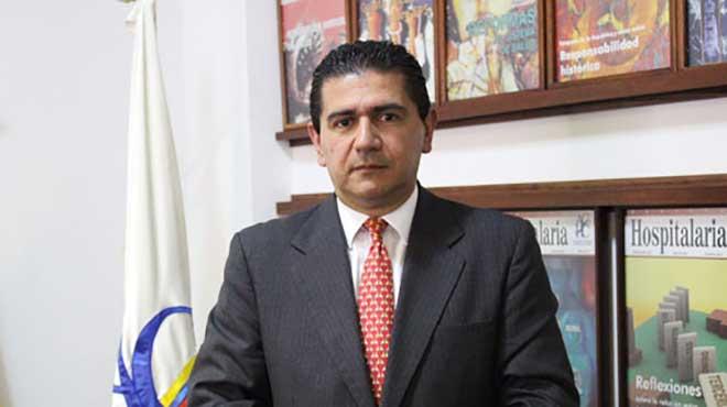Juan Carlos Giraldo, director de la Asociaci�n Colombiana de Cl�nicas y Hospitales