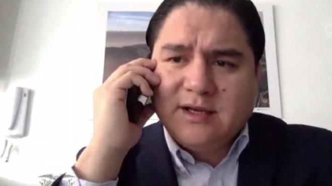 Julio L�pez, viceminietro de Gobernanza.