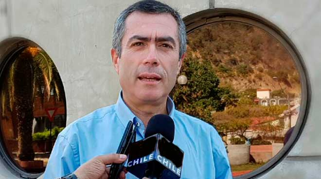 Julio Ibarra, director del Instituto Nacional de Turismo.