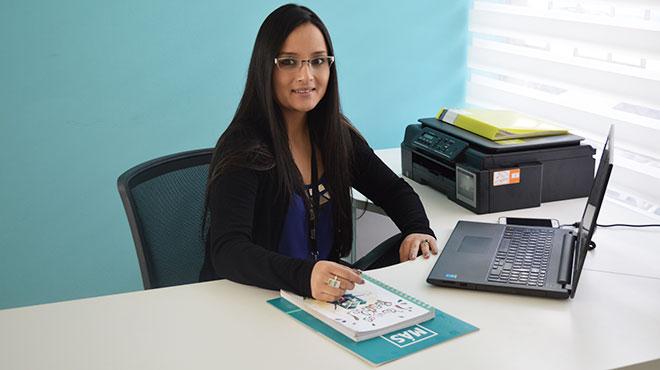 Karina Guam�n, coordinadora de estrategia comercial de Uniteco en Ecuador.