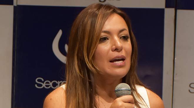 Ledy Zu�iga, secretaria t�cnica de Drogas