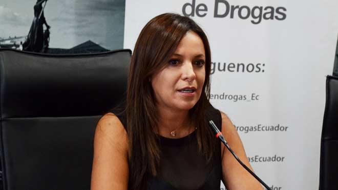 Ledy Z��iga Rocha, secretaria T�cnica de Drogas.