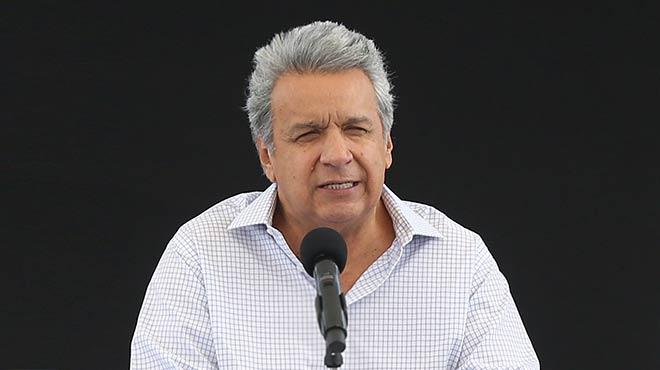 Len�n Moreno, presidente de la Rep�blica.