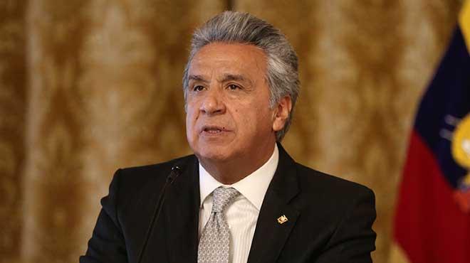 Lenín Moreno, presidente de la República.