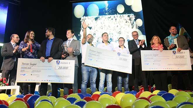 Ganadores del concurso Liga de Emprendedores Extraordinarios