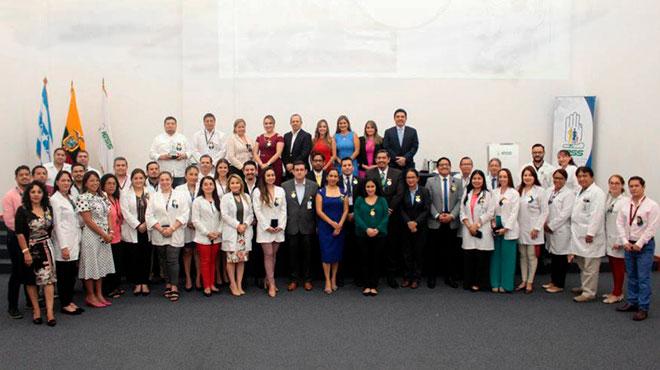 Hospital Los Ceibos celebra su segundo a�o de vida institucional.