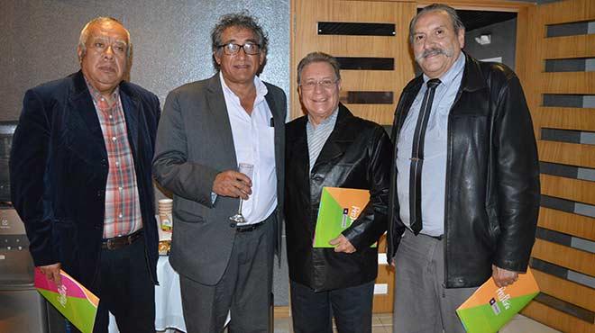 Germ�n Echeverr�a, Pablo Cisneros, Jos� Reinhart y Roberto V�lez, m�dicos deport�logos.