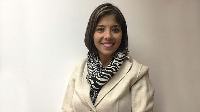 María Mercedes Castrejón, directora médica de Vacunas del Laboratorio GSK.