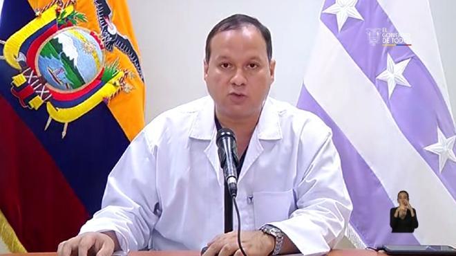 Ernesto Carrasco, viceministro de Atenci�n Integral en Salud.