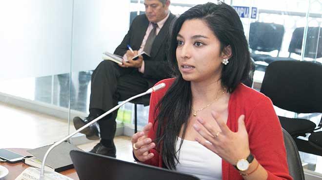 Magali Ramos, directora de Formaci�n Acad�mica de Grado de la Senescyt.