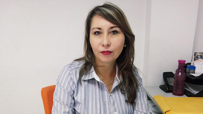 Maily V�sconez, directora provincial de Salud.