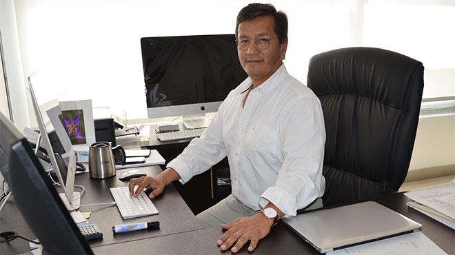 Manuel Balde�n, director del Centro de Investigaci�n Biom�dica de la UTE.