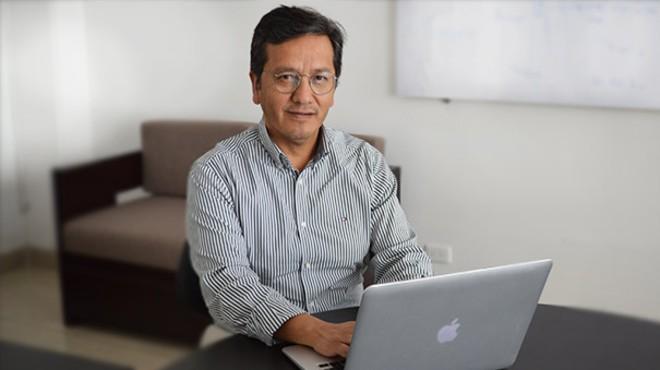 Manuel Balde�n, director del Centro de Investigaci�n Biom�dica de la Universidad UTE.