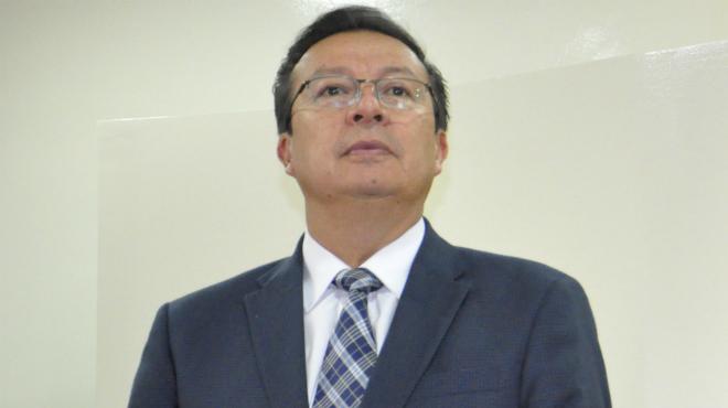 Manuel Minaya, coordinador de Salud  Zona 9.