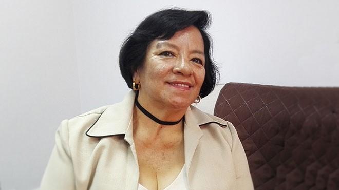 Mar�a Merch�n, presidenta del Colegio de Enfermeras y Enfermeros del Azuay.