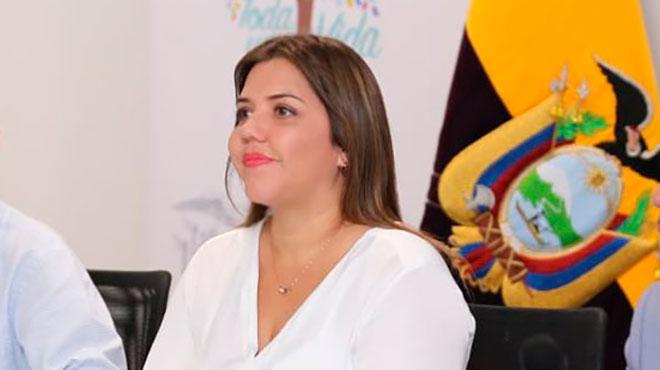 Mar�a Alejandra Vicu�a, vicepresidenta de la Rep�blica.