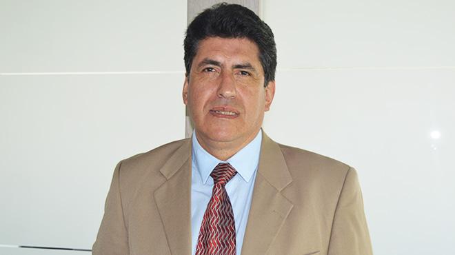 Marcelo Aguilar, docente de la Facultad de Ciencias Médicas de la UCE.