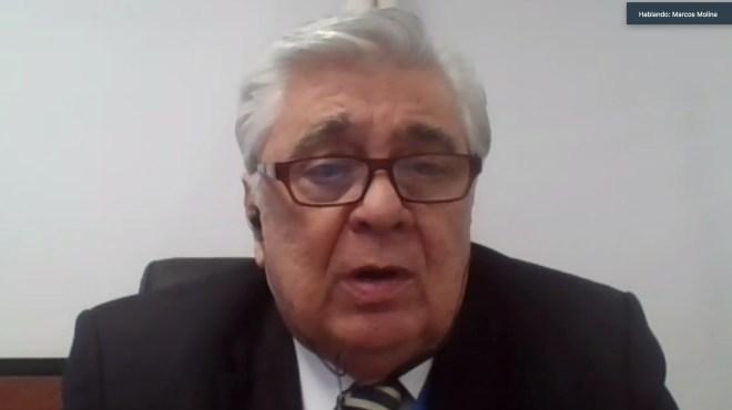 Marcos Molina, presidente de la Comisi�n a la Salud.