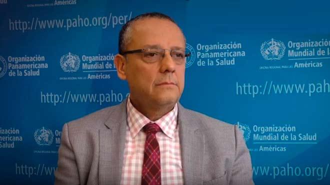 Marcos Espinal, director del Departamento de Enfermedades Transmisibles y Determinantes Ambientales de la Salud de la OPS.