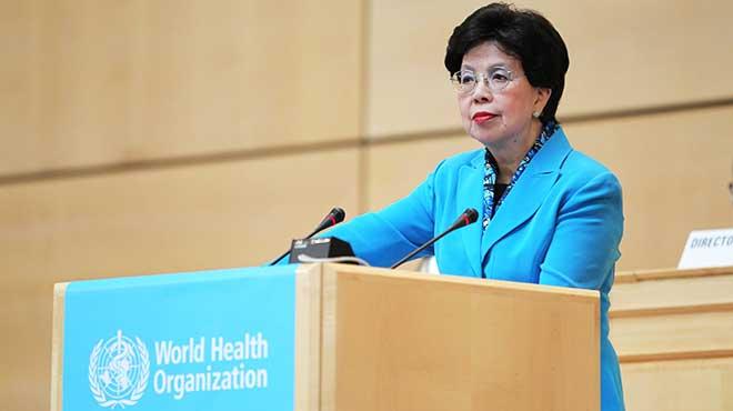Margaret Chan, directora general de OMS.