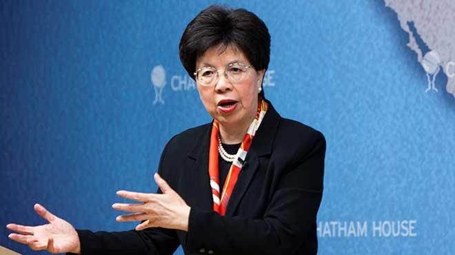 Margaret Chan, directoria de la OMS.