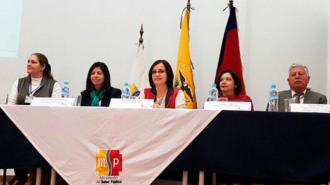 Luisa Salzman, Consuelo Santamar�a, Margarita Guevara, Patricia Mena y Guido Borja.