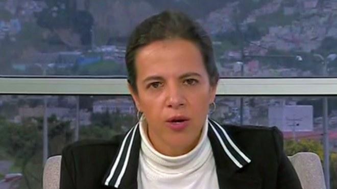Mar�a Paula Romo, ministra de Gobierno.