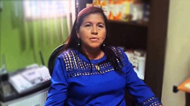 Mar�a Castro de Le�n, presidenta de la Fundaci�n Esperanza de Vida.