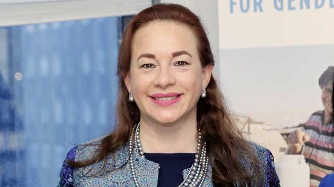 Mar�a Fernanda Espinosa, ministra de Relaciones Exteriores.