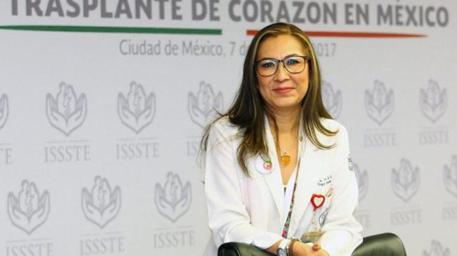 Mar�a del Sol Garc�a Orteg�n, cirujana cardiovascular
