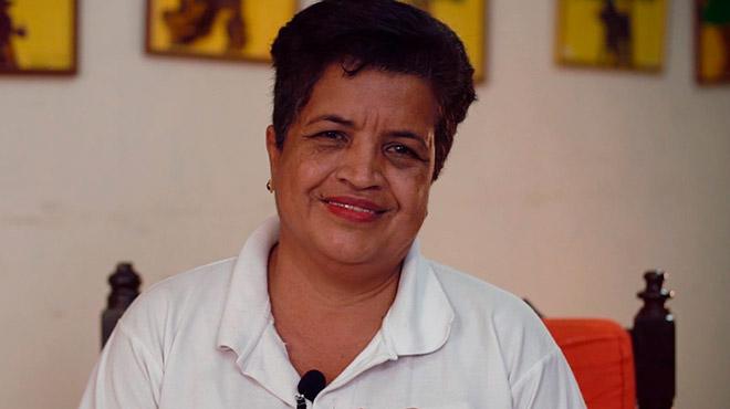 Maril� Ruiz, presidenta de la Fundaci�n Ecos y Luz.