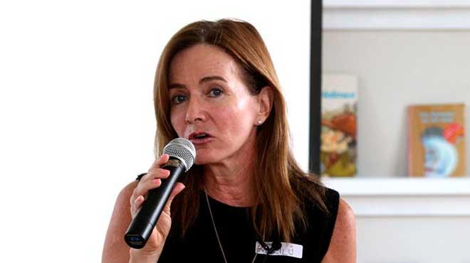 Maril� Martens, ministra de educaci�n