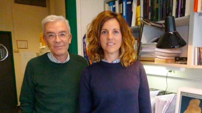 Mario Vallejo y Mercedes Mirasierra, investigadores espa�oles