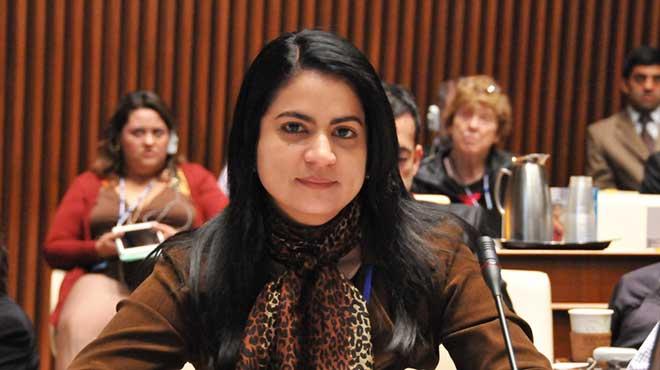 Martha Luc�a Ospina, directora del Instituto Nacional de Salud.