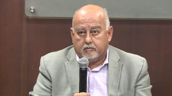 Mauricio Pozo, ministro de Econom�a y Finanzas.