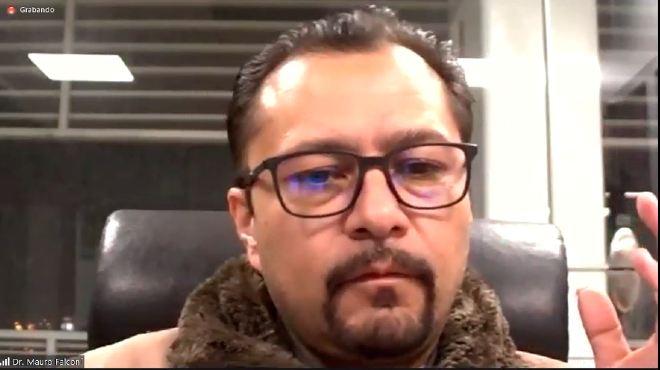 Mauro Falcon�, ministro de Salud.