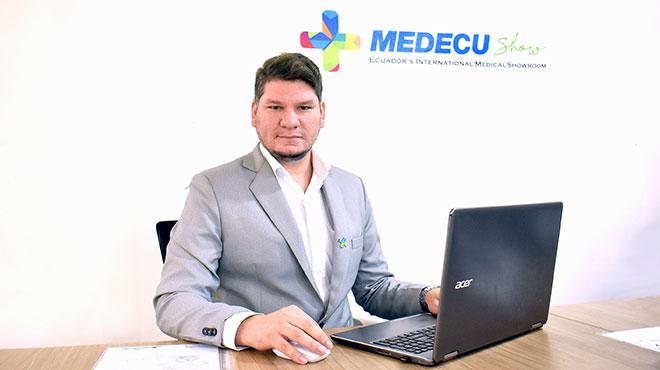Bernardo Moreira, director de Medecu Show y CEO de la compa��a Lubermo.