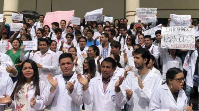 Universidad de Guayaquil rechaza esta acci�n judicial.
